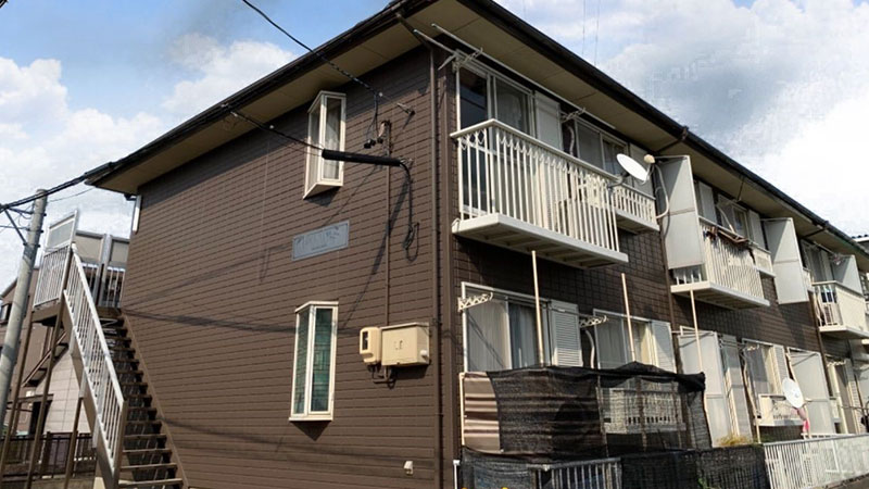 豊田市 G様 2階建てアパートAfter写真