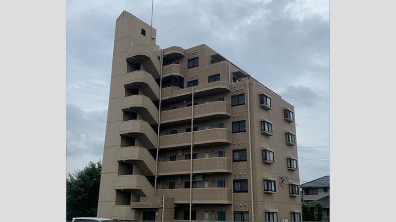 豊田市 A様 7階建てアパートマンションBefore写真