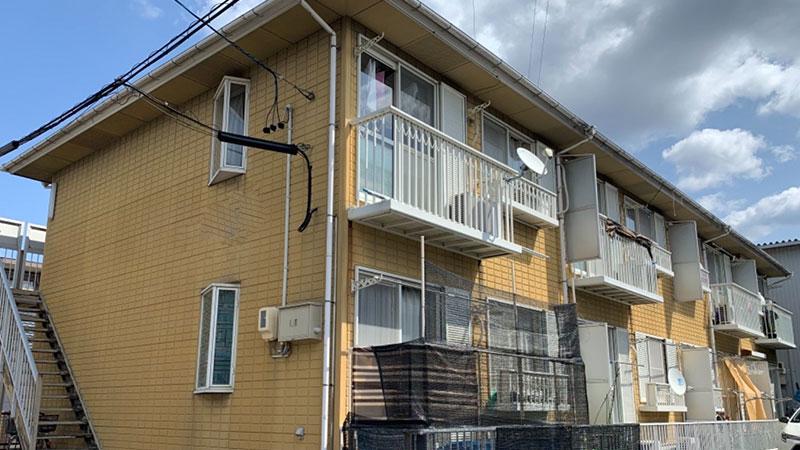 豊田市 G様 2階建てアパートBefore写真