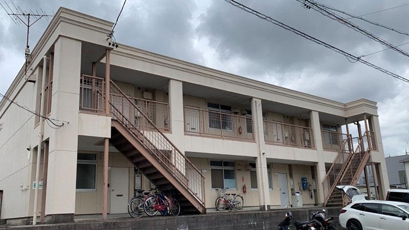 豊田市 S様 アパート付帯部・鉄部塗り替え工事Before写真