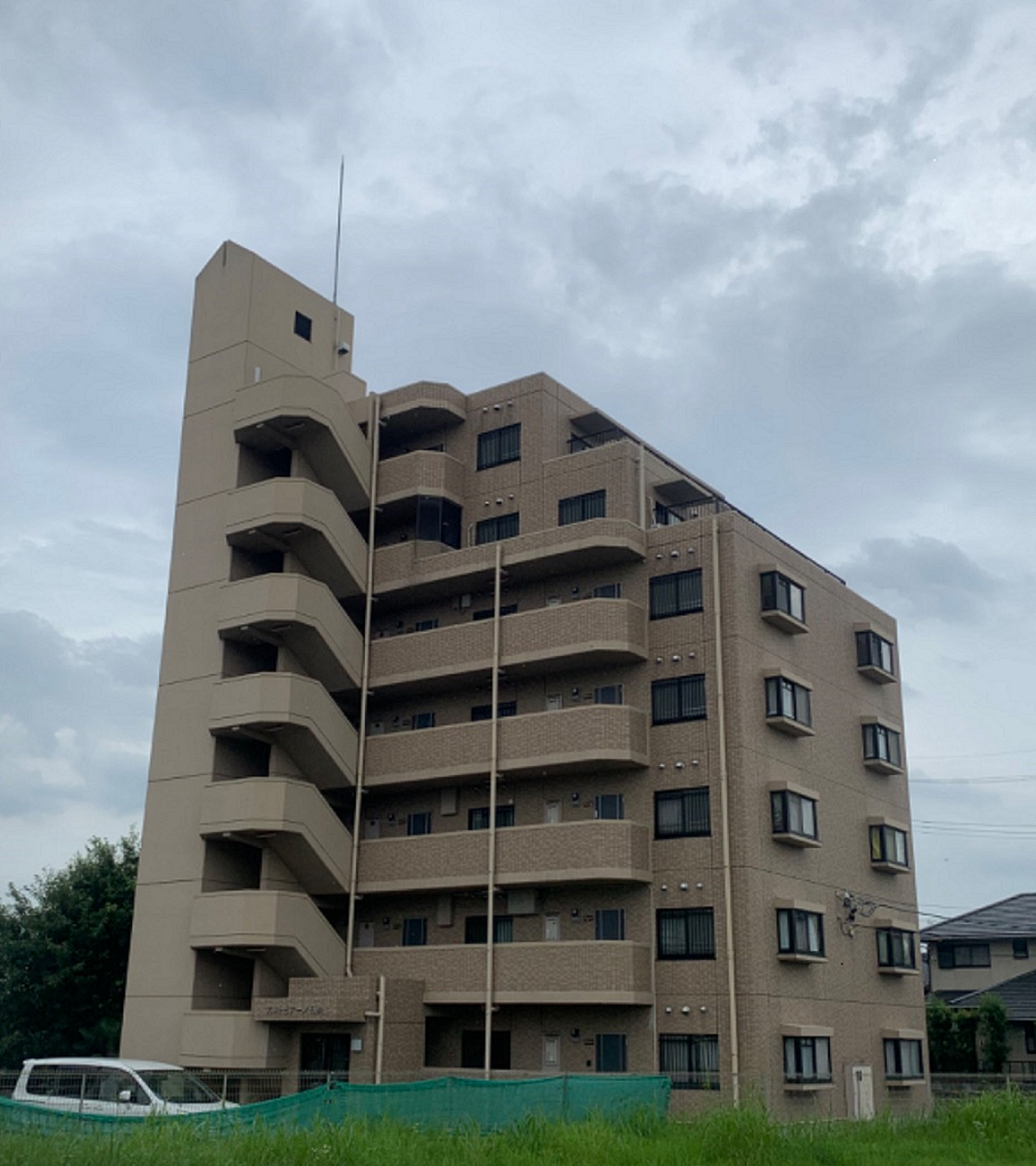 豊田市日南町 A様 7階建てアパートマンション